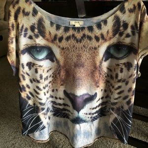 COPY - Forever 21 tiger print t-shirt edgy & sexy…